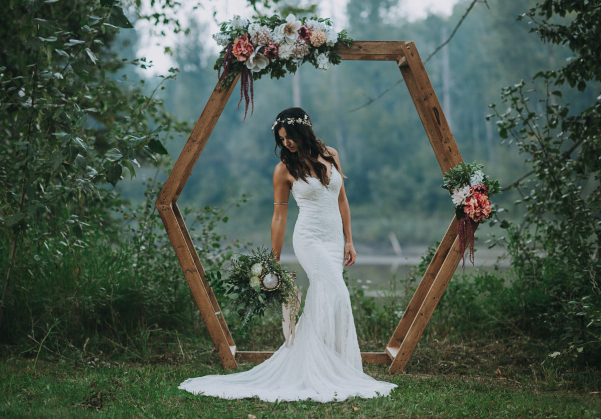 Boho Wedding In The Meadow